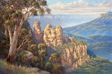 Three Sisters - Katoomba Art Print