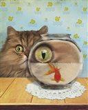 Cat Series #3 Art Print