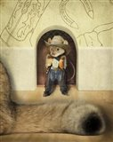 New Mouse In Town Art Print