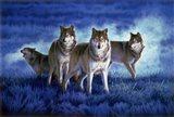 Blue Legend Art Print