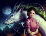 Dragon Night Art Print