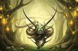 God of Evanescence Art Print