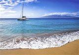 Sailing Near Maui Art Print