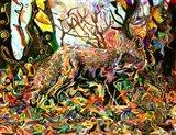Mozilla's Fox Art Print