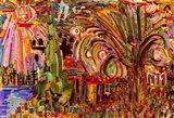 Particles Of Landscape Art Print