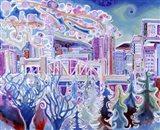The Burrard Street Bridge Art Print