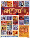 Any 70 Records for One Cent Art Print