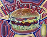 Hamburger Art Print