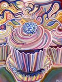 Cupcakes in The Sunshine Art Print