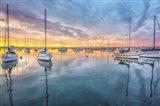 A Perfectly Calm Sunset, San Diego Art Print