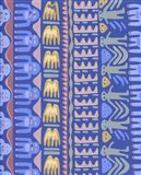 Hand Stamp Art Print
