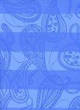 Paisley Stripe Art Print