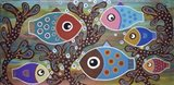 6 Fish Art Print