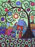 Small Village 1 Art Print