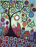 Small Town 1I Art Print