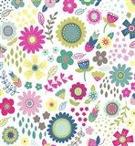Floral Pattern 1 Art Print