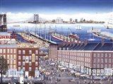 SouthStreet Seaport Art Print