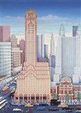 GE Building NYC Art Print