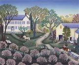 Spring Farm Art Print