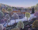 Cobbs Mill Inn Spring Art Print