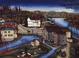 Charles Mill Art Print
