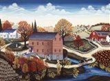 Clifton Mill Art Print