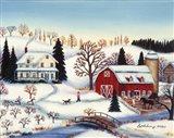Dianes Farm Art Print