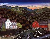 Farm Near Onaway Art Print