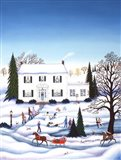 Holiday Home Art Print