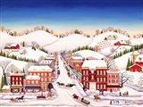Winter In New Jersey Art Print