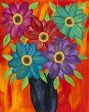 Blooming Colors Art Print