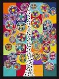 Pinwheel Tree Art Print