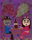 Smitten Kitten Art Print