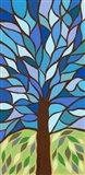 Tree of Life - Blue Art Print