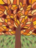 Tree of Life - Orange Art Print