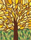 Tree of Life - Yellow Art Print