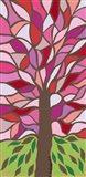 Tree of Life - Pink Art Print