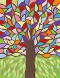 Tree of Life - Rainbow I Art Print