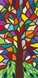 Tree of Life - Rainbow II Art Print