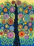 Pastel Tree of Life Art Print