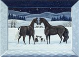 Silent Night- December Art Print