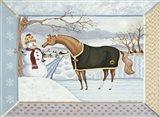 Winter Magic- January Art Print