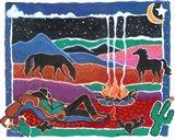 Cowboy Dreams Art Print