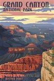 Grand Canyon Mather Point Art Print