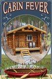 Cabin Fever Lodge Art Print