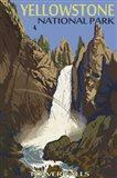 Yellowstone Tower Falls Art Print