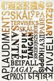 Cheers In Different Languages Art Print