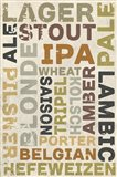 Lager In Different Languages Art Print