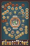 Beers Of The World Art Print