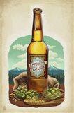American Light Lager Beer Art Print